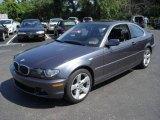 2006 Sparkling Graphite Metallic BMW 3 Series 325i Coupe #16745576