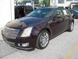 2009 Black Cherry Cadillac CTS 4 AWD Sedan #16745104