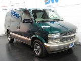2002 Dark Forest Green Metallic Chevrolet Astro LS #16761546