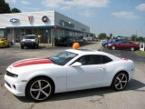 2010 Summit White Chevrolet Camaro SS/RS Coupe #16762172