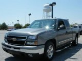 2006 Graystone Metallic Chevrolet Silverado 1500 Extended Cab #16752615
