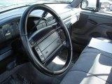 1995 Ford F150 XLT Regular Cab Gray Interior