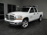2006 Bright White Dodge Ram 1500 SLT Quad Cab #16748190
