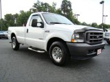 2004 Oxford White Ford F250 Super Duty XL Regular Cab #16754948