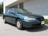 2002 Noble Green Pearl Honda Accord LX Sedan #16759012