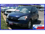2008 Royal Blue Pearl Honda CR-V LX #16749823
