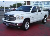 2007 Bright White Dodge Ram 1500 Big Horn Edition Quad Cab 4x4 #16753156