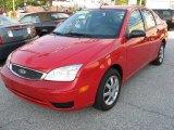 2005 Infra-Red Ford Focus ZX4 SE Sedan #16745114
