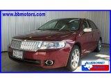 2007 Merlot Metallic Lincoln MKZ Sedan #16763328