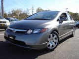 2006 Galaxy Gray Metallic Honda Civic LX Sedan #1671696