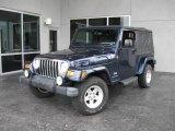 2006 Midnight Blue Pearl Jeep Wrangler Unlimited 4x4 #16748184