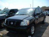 2007 Galaxy Black Nissan Titan XE Crew Cab #16821716