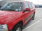 2001 Victory Red Chevrolet Suburban 1500 LS #16845998