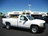 2009 Summit White Chevrolet Silverado 1500 Regular Cab #16847275