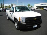 2009 Summit White Chevrolet Silverado 1500 Regular Cab #16847274