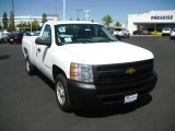 2009 Summit White Chevrolet Silverado 1500 Regular Cab #16847272