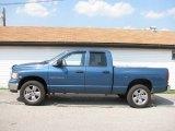 2003 Atlantic Blue Pearl Dodge Ram 1500 SLT Quad Cab 4x4 #16841530