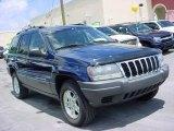 2002 Patriot Blue Pearlcoat Jeep Grand Cherokee Laredo #16845449