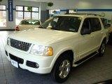 2003 Ceramic White Tri Coat Ford Explorer Limited 4x4 #16842186