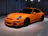 2008 Porsche 911 Orange