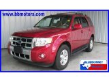 2009 Sangria Red Metallic Ford Escape Limited V6 #16835024