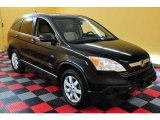 2008 Nighthawk Black Pearl Honda CR-V EX 4WD #16846036