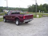 2004 Dark Toreador Red Metallic Ford F250 Super Duty XL Regular Cab 4x4 #16835687