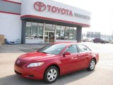 2008 Barcelona Red Metallic Toyota Camry LE #16838670