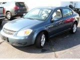 2007 Blue Granite Metallic Chevrolet Cobalt LT Sedan #16851071