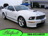 2007 Performance White Ford Mustang Shelby GT Coupe #16842719