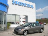 2006 Galaxy Gray Metallic Honda Civic EX Sedan #16838657