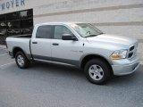 2009 Bright Silver Metallic Dodge Ram 1500 SLT Crew Cab 4x4 #16848707