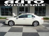 2009 Premium White Pearl Acura TSX Sedan #16906559