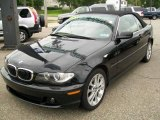 2005 Jet Black BMW 3 Series 330i Convertible #16903350