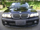 2002 Jet Black BMW 3 Series 330i Sedan #16905862
