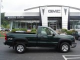 2003 Dark Green Metallic Chevrolet Silverado 1500 Regular Cab 4x4 #16902460