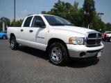 2004 Bright White Dodge Ram 1500 SLT Quad Cab #16901951