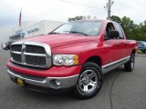 2002 Flame Red Dodge Ram 1500 SLT Quad Cab #16893417