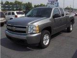 2007 Graystone Metallic Chevrolet Silverado 1500 LT Extended Cab 4x4 #16896785
