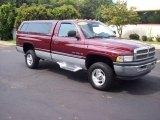 2001 Dark Garnet Red Pearl Dodge Ram 1500 SLT Regular Cab 4x4 #16905420
