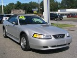 2000 Silver Metallic Ford Mustang V6 Convertible #16902684
