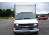 2002 Chevrolet Express Cutaway 3500 Commercial Moving Van Data, Info and Specs