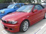 2006 Imola Red BMW 3 Series 330i Convertible #16907749