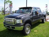 2005 Dark Stone Metallic Ford F350 Super Duty XLT Crew Cab 4x4 #1684205