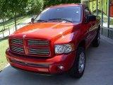 2003 Flame Red Dodge Ram 1500 SLT Regular Cab 4x4 #16967365