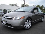 2006 Galaxy Gray Metallic Honda Civic LX Sedan #1671668