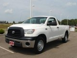 2008 Super White Toyota Tundra Regular Cab #16959435