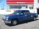 2004 Arrival Blue Metallic Chevrolet Silverado 1500 LT Extended Cab #16988880