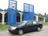 2005 Dark Blue Metallic Chevrolet Malibu LS V6 Sedan #16990222