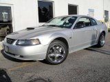 2001 Silver Metallic Ford Mustang GT Coupe #16987435